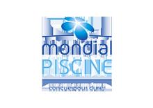 logo Mondial Piscine couleur