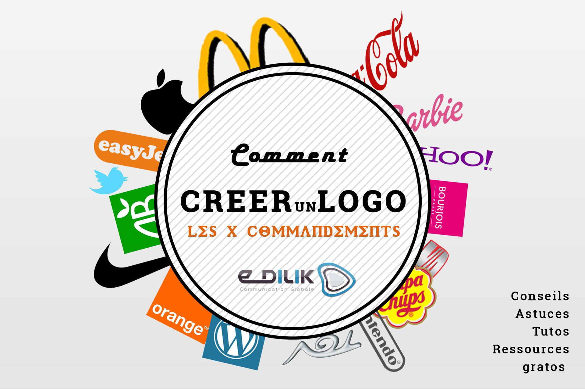 Comment créer un logo facilement ? les 10 commandements