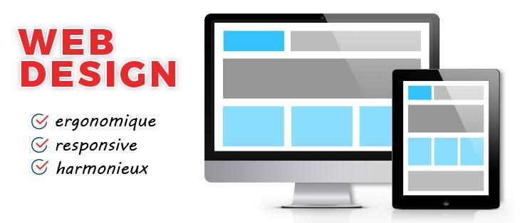 Un webdesign ergonomique et responsive