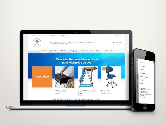 Miniature site e-commerce la pause SIPHO