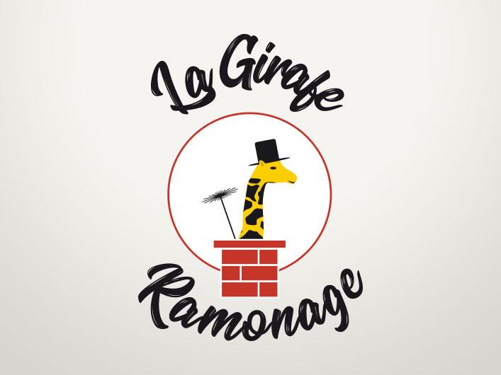 Logo de la Girafe Ramonage