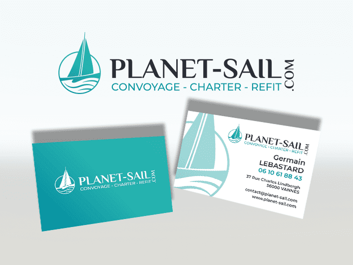 Miniature Logo et carte Planet Sail