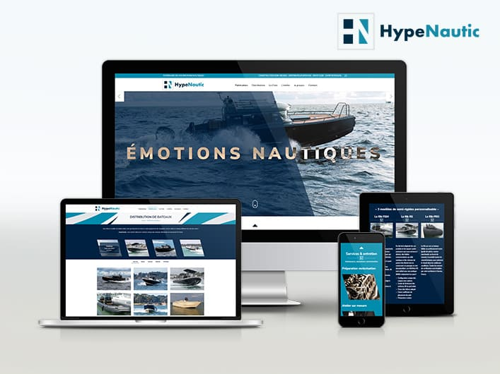 Miniature site internet HypeNautic.
