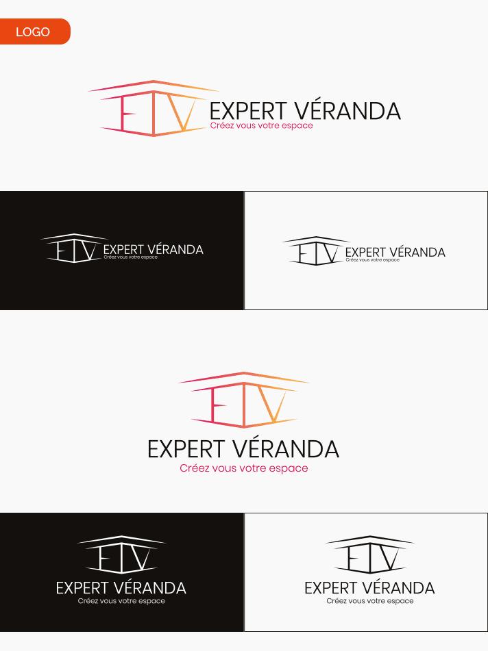 Aperçu création de logo Expert Véranda