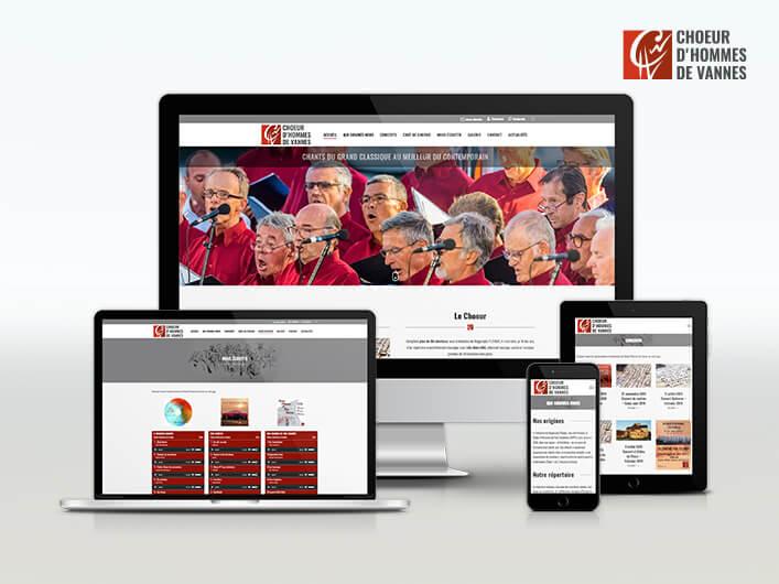 Miniature site internet Choeur d'Hommes de Vannes